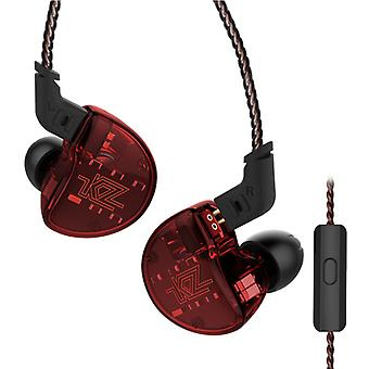 KZ Audio KZ ZS10 - 1DD + 4BA In-ear Monitor earbuds - Red