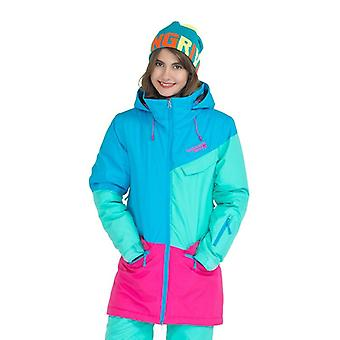 Women Snowboard Jackets For Warm Mid-thigh