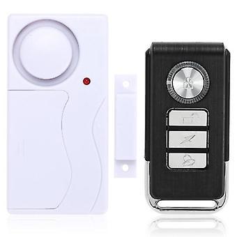 Sensor de puerta magnético inalámbrico Control remoto Home House Window Detector Alarma de seguridad