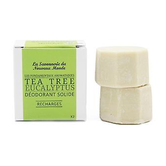 Solid deodorant Refill EUCALYPTUS / TEA-TREE 30 ml