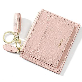 Mini Thin Wallet Multi-card Keychain Card Case