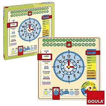 Goula 51308 - Calendar Clock French