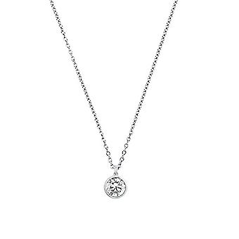 s.Oliver, necklace with women's pendant, in silver 925 with zircons