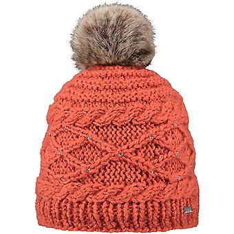 Barts Claire Bobble Hat in Ginger