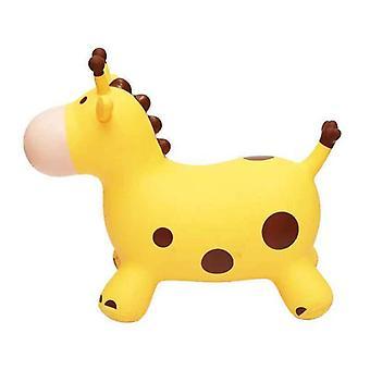 Bouncy Giraffe Hopper, Inflatable Jumping, Bouncing Animal