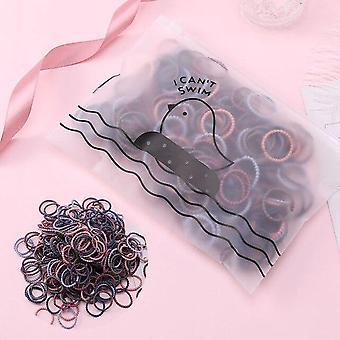 Piger Cute farverige elastiske hårbånd