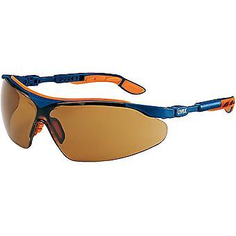 -ivo Schutzbrille - Supravision Excellence - Braun/Blau-Orange