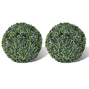 Keinotekoinen lehtitorpiary 35cm - Boxwood Ball (Sarja 2)