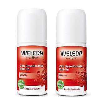 Duplo Roll-On Deodorant From Granada 2 units of 50ml