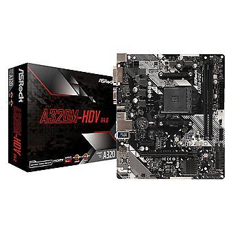 アスロック A320M-HDV R4.0 AMD A320 AM4 マイクロ ATX 2 DDR4 VGA DVI HDMI M.2