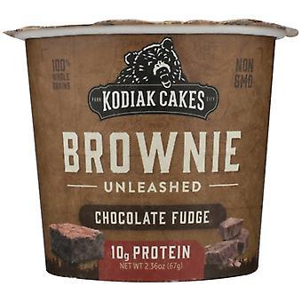 Kodiak Mix Brownie Cup Choc Fdg, Case of 12 X 2.36 Oz
