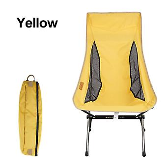 Camping Picnic Chair Fishing Beach Outdoor Folding Chairs Portable Backpacking Tourist Lounge Deck Chair Garden Furniture