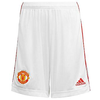 Manchester United Boys Shorts Home Kit 2021/22 OFFICIAL Football Gift
