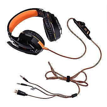 Gaming Headset With 1 Point 2 Adapter Cable