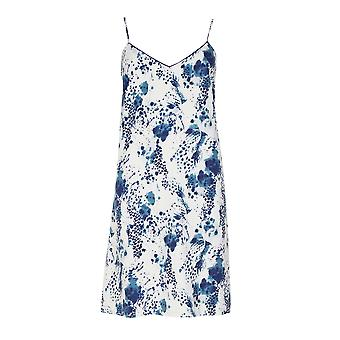 Cyberjammies Ellie 4866 Women's White Leopard Print Cotton Nightdress