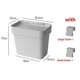 Wall-mounted Trash Cans Are Hung On The Doors Of Kitchen Cabinets, Bathrooms, Toilets, Car Trash Cans