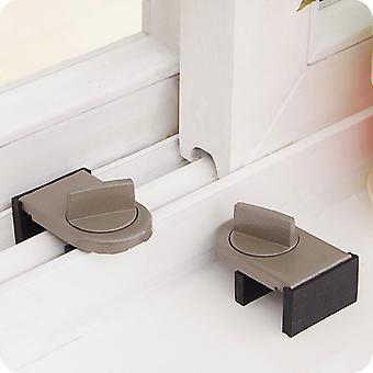 Locks on Windows adjustable security door latch Mobile window insurance lock anti-theft protection lock window stoppers
