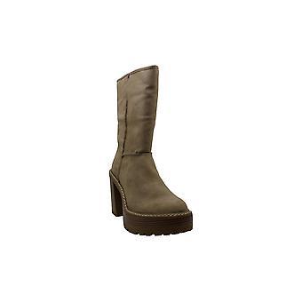 Madden Girl Womens Kaylla Faux Fur Closed Toe Mid-Calf Fashion Boots
