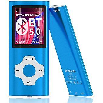 כחול 16g mp3 mp4 נגן מוסיקה עם מציג תמונות e-קורא קורא קול מקליט fm רדיו וידאו lc1116