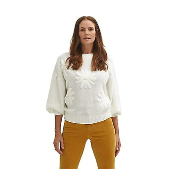Shuuk Embroidered floral sweater