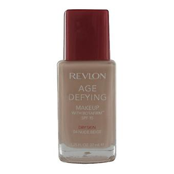 Revlon # Revlon Age Defying Foundation For Dry Skin - Nude Beige 04 #DISCON