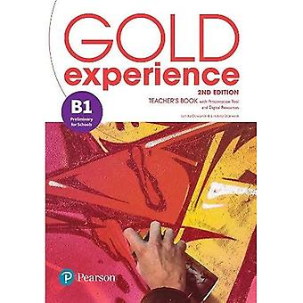 Gold Experience 2nd Edition� B1 Teacher's Book with Online Practice & Online Resources Pack (Gold Experience)