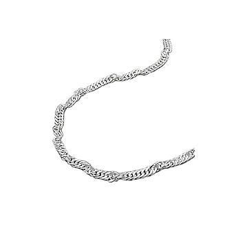 Singapore Chain Diamond Cut Silver 925 36cm 43411 43411 43411
