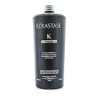 Kerastase Chronologiste Revitalizing Shampoo (for All Hair Types) - 1000ml/34oz
