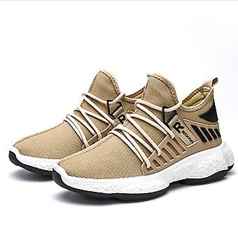 Sports Leisure Men's Shoes White Brown Black
