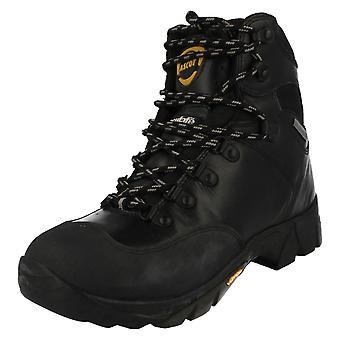 Mens Ascot Lace Up Short Boots Ridge