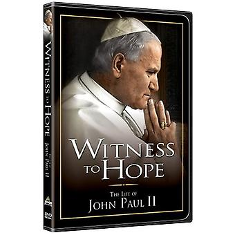 Witness to Hope [DVD] USA import