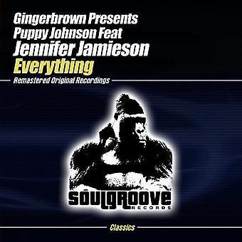 Gingerbrown プレゼント子犬ジョンソン - すべての [CD] アメリカ インポートします。