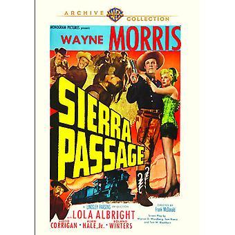 Sierra Passage [DVD] USA importerer