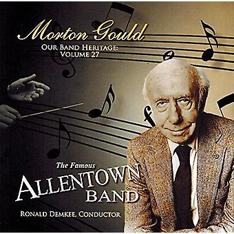Gould / Demkee / Seifert / Paine / Stettler - Morton Gould-Our Band Heritage Vol. 27 [DVD] USA import