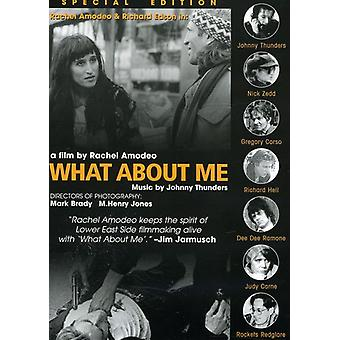 What About Me [DVD] USA import