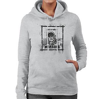 Life is Shiny In The War Boys Mad Max Fury Road Women's Hooded Sweatshirt