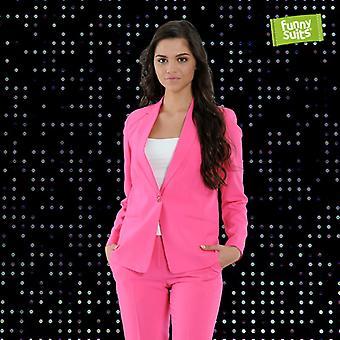 Pink women's suit Funnysuits Flamingogo 2 piece suit costume deluxe EU SIZES