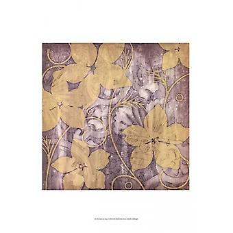 Yellow & Gray I Poster Print by Jennifer Goldberger (13 x 19)