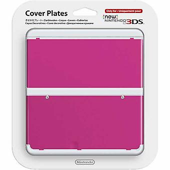 Nye Nintendo 3DS Cover Plate rosa