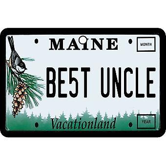Maine - beste oom License Plate auto luchtverfrisser