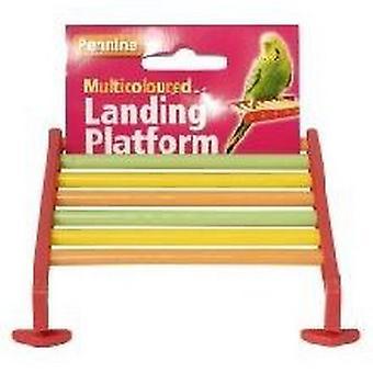 Pennine pássaro pousando plataforma - Multicoloured