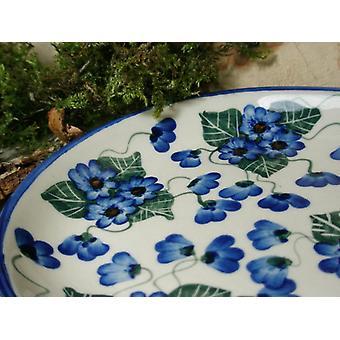 Plate, 23 x 15 cm, 46 - boleslawiec aardewerk - BSN 6578