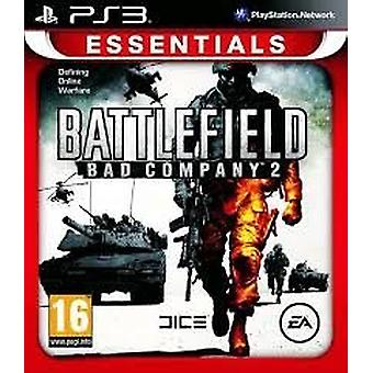 Battlefield Bad Company 2 spil Essentials (PlayStation 3)-ny