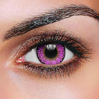 Violet 3 Tone Contact Lenses (Pair)