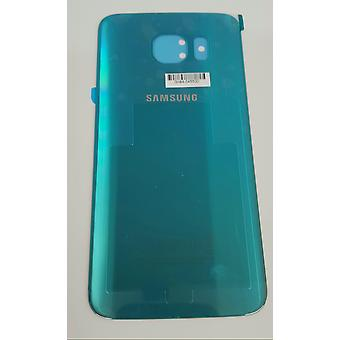 Samsung Galaxy S6 - SM-G920 - Rückseite mit Klebstoff - blau