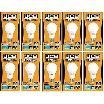 20 X JCB LED 15 Watt Screw Cap GLS Lamp Warm White 3000K 100W Replacement ES E27 LED Bulb[Energy Class A+]