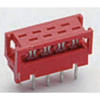Edge connector (receptacle) Mikro-MaTch No. of rows 2 TE Connectivity 1 pc(s)