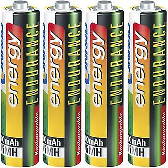 Conrad energy Endurance HR03 AAA battery (rechargeable) NiMH 800 mAh 1.2 V 4 pc(s)