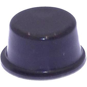 TOOLCRAFT PD2128SW Ayak kendinden yapışkanlı, dairesel Siyah (Ø x H) 12,7 mm x 6,2 mm 1 adet(ler)