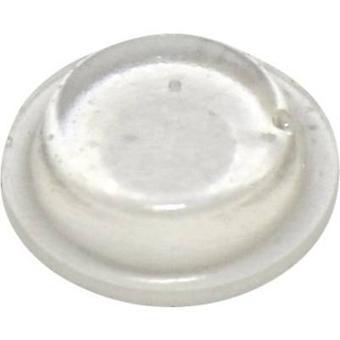 TOOLCRAFT PD2125C foten selvklebende, sirkulære gjennomsiktig (Ø x H) 12,7 mm x 3,5 mm 1 eller flere PCer